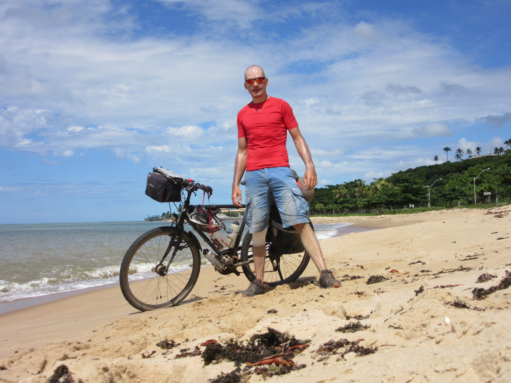 Pacific to Atlantic by bicycle